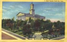 cap001061 - Nashville, Tennessee, Tn, USA State Capitol, Capitols Postcard Post Card