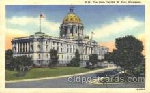 cap001066 - St.Paul, Minnesota, Mn, USA State Capitol, Capitols Postcard Post Card