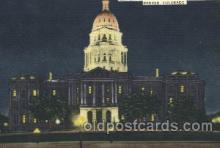 cap001072 - Denver, CO, USA State Capitol, Capitols Postcard Post Card