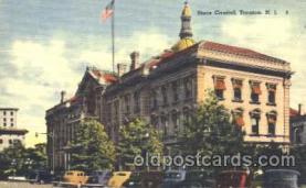 cap001077 - Trenton, N.J., New Jersey, USA State Capitol, Capitols Postcard Post Card