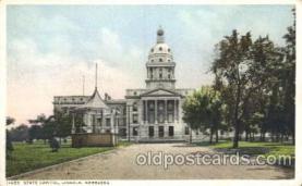 cap001083 - Lincoln, Nebraska, Ne, USA State Capitol, Capitols Postcard Post Card