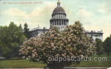 cap001107 - Sacramento, California, Ca, USA State Capitol, Capitols Postcard Post Card