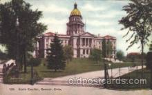 cap001112 - Denver, CO. Colorado, USA State Capitol, Capitols Postcard Post Card