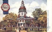 cap001117 - Maryland, Md, USA State Capitol, Capitols Postcard Post Card