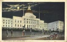cap001121 - Boston,  Massachusetts, Ma, USA State Capitol, Capitols Postcard Post Card