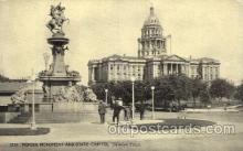 cap001125 - Denver, CO, Colorado, USA State Capitol, Capitols Postcard Post Card