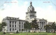 cap001128 - Lincoln, Nebraska, Ne, USA State Capitol, Capitols Postcard Post Card