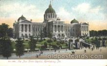 cap001133 - Harrisburg, PA, Pennsylvania, USA State Capitol, Capitols Postcard Post Card