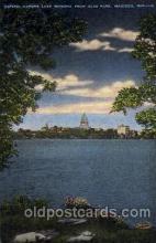 Capital across Lake monana, madison, Wis, Wisconsin, USA