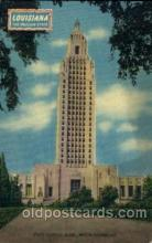 cap001141 - Baton Rouge, LA, Louisiana, USA United States State Capital Building Postcard Post Card