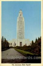 cap001149 - The Louisiana State Capital United States State Capital Building Postcard Post Card