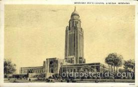 Nabraka State Capital, Lincoln, Nebraska, USA