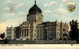 cap001161 - Capital Helena Montana, USA United States State Capital Building Postcard Post Card