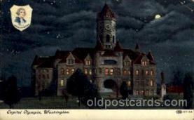 cap001165 - Olympia, Washington, USA United States State Capital Building Postcard Post Card