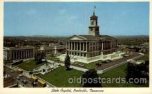 cap001172 - Nashville, Tennessee, Texas, USA United States State Capital Building Postcard Post Card