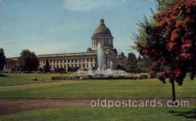 cap001173 - Washington DC, USA United States State Capital Building Postcard Post Card