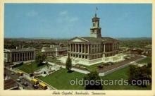 cap001184 - Nashville, Tennessee, Texas, USA United States State Capital Building Postcard Post Card
