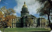 cap001186 - Denver, Colorado, USA United States State Capital Building Postcard Post Card