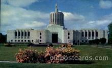 cap001188 - Oregon state capital building, USA United States State Capital Building Postcard Post Card