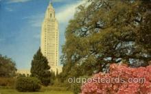 cap001190 - Louisiana, Baton Rouge United States State Capital Building Postcard Post Card
