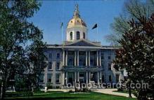 cap001225 - Concord, New Hampshire, USA United States State Capital Building Postcard Post Card