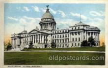 cap001229 - Jackson, Mississippi, USA United States State Capital Building Postcard Post Card