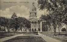 cap001231 - Lincoln, Neb, Nebraska, USA United States State Capital Building Postcard Post Card