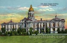 cap001236 - Cheyenne, Wyoming, USA United States State Capital Building Postcard Post Card