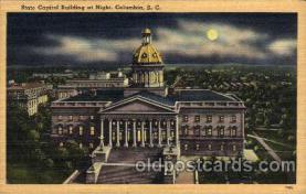 cap001240 - Columbia,SC, South Carolina, USA United States State Capital Building Postcard Post Card