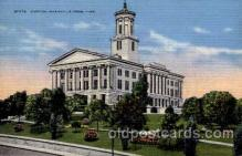 cap001243 - Nashville Tennessee, USA United States State Capital Building Postcard Post Card