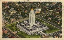 cap001248 - Lincoln, Neb, Nebraska, USA United States State Capital Building Postcard Post Card
