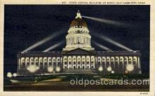cap001250 - Salt Lake, Utha, USA United States State Capital Building Postcard Post Card