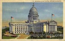 cap001256 - Madison, Wisconsin, USA United States State Capital Building Postcard Post Card