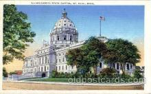 cap001258 - St, Paul, Minnesota, USA United States State Capital Building Postcard Post Card