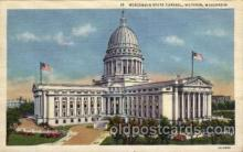 cap001264 - Madison, Wisconsin, USA United States State Capital Building Postcard Post Card