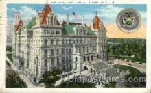 cap001271 - New York State, Albany, N.Y., USA United States State Capital Building Postcard Post Card