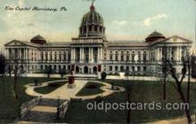 cap001273 - Harrisburg, PA, Pennsylvania, USA United States State Capital Building Postcard Post Card