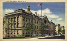 cap001278 - Trenton, NJ, New Jersy, USA United States State Capital Building Postcard Post Card