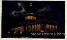 cap001298 - Salt lake City, Utah, USA United States State Capital Building Postcard Post Card