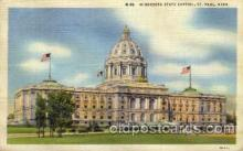 cap001308 - ST. Paul, Minnesota, USA United States State Capital Building Postcard Post Card