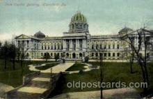 cap001309 - Harrisburg, PA, Pennsylvania, USA United States State Capital Building Postcard Post Card
