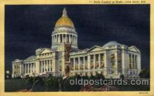 cap001310 - Little Rock, Arkansas, USA United States State Capital Building Postcard Post Card