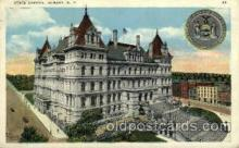 cap001318 - Albany, N.Y., USA United States State Capital Building Postcard Post Card