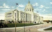 cap001319 - Minnesota, USA United States State Capital Building Postcard Post Card