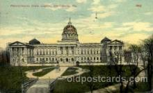 cap001322 - Pennsylvania, USA United States State Capital Building Postcard Post Card
