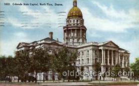 cap001324 - Denver, Colorado, USA United States State Capital Building Postcard Post Card