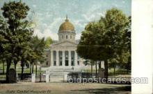 cap001326 - Montpelier, Vt, New Hamshir, USA United States State Capital Building Postcard Post Card