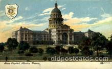 cap001334 - Austin, Texas, USA United States State Capital Building Postcard Post Card