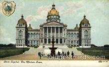 cap001341 - Des Moines, IOWA, USA United States State Capital Building Postcard Post Card
