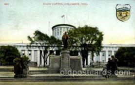 cap001346 - Colimbus, Ohio, USA United States State Capital Building Postcard Post Card